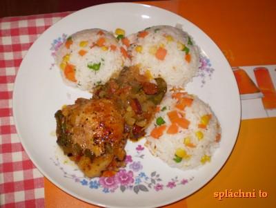 Kuře a la mrkev